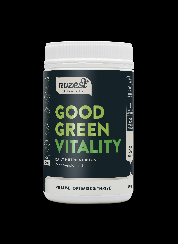 Nuzest - Good Green Vitality, 300g