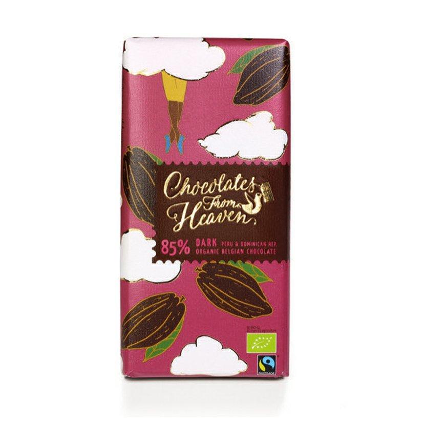 Chocolates from Heaven - BIO horká čokoláda Peru a Dominikánska republika 85 %, 100 g