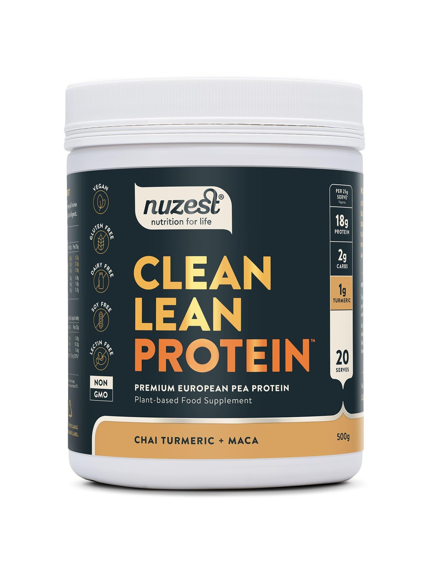 Nuzest - Clean Lean Protein, Chai Turmeric Balenie: 25g