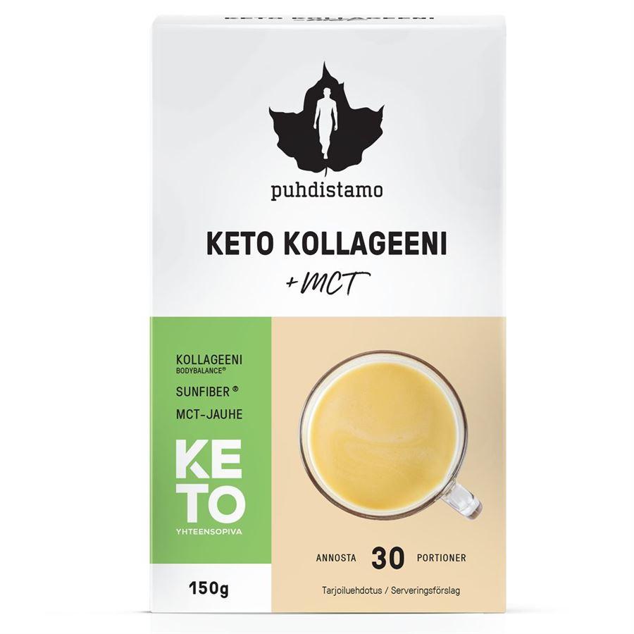 Puhdistamo - Premium Keto Kollagen + MCT 150g (Kolagenové peptidy Bodybalance® s MCT)