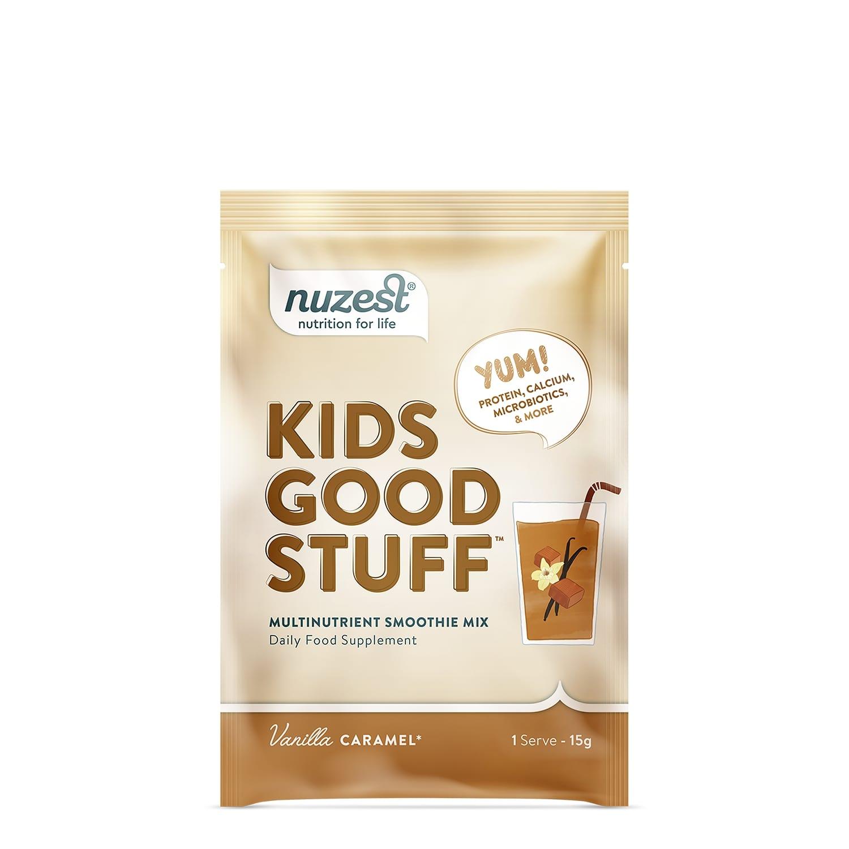 Nuzest - Kids Good Stuff, Vanilla Caramel Balenie: 15g