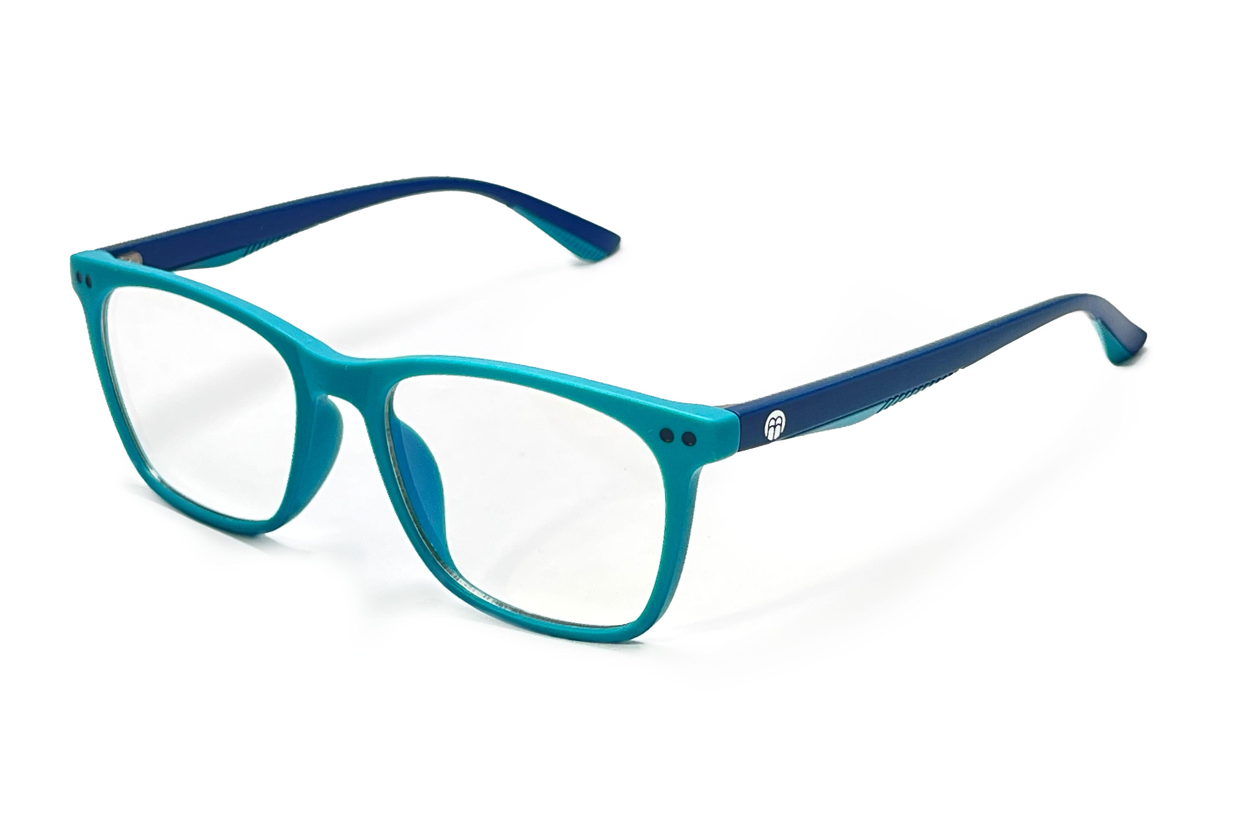 BrainMax Detské okuliare blokujúce 15% modrého svetla (zeleno - modré)