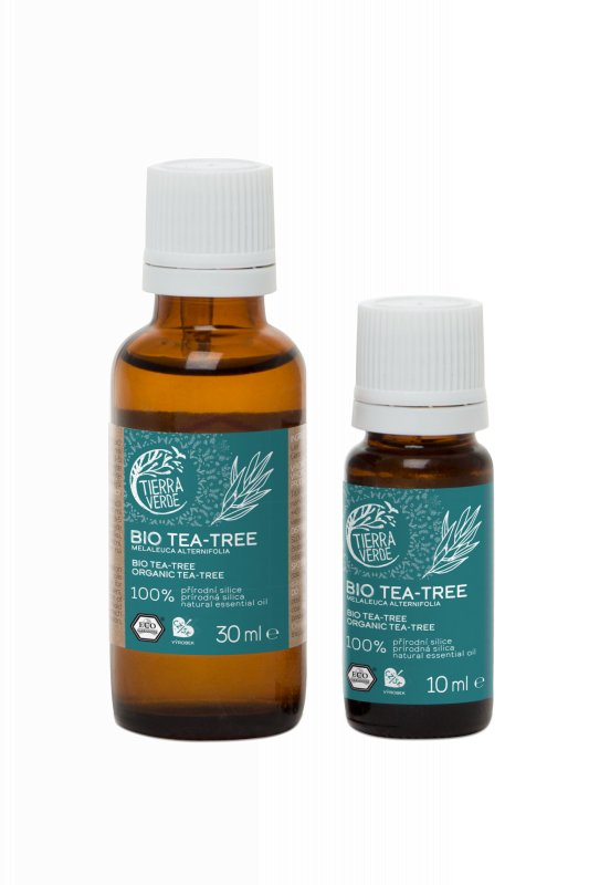 Tierra Verde - Silice Tea tree BIO, 10 ml