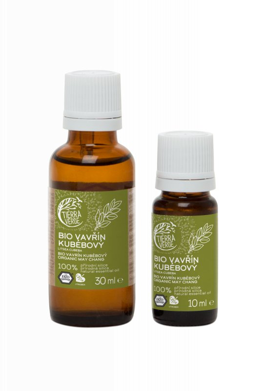Tierra Verde - Silice Vavřín Kubébový BIO, 10 ml