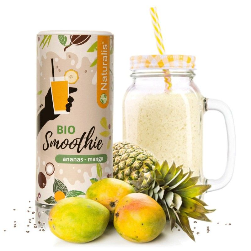 Naturalis - Smoothie Naturalis Ananas a Mango BIO, 180g