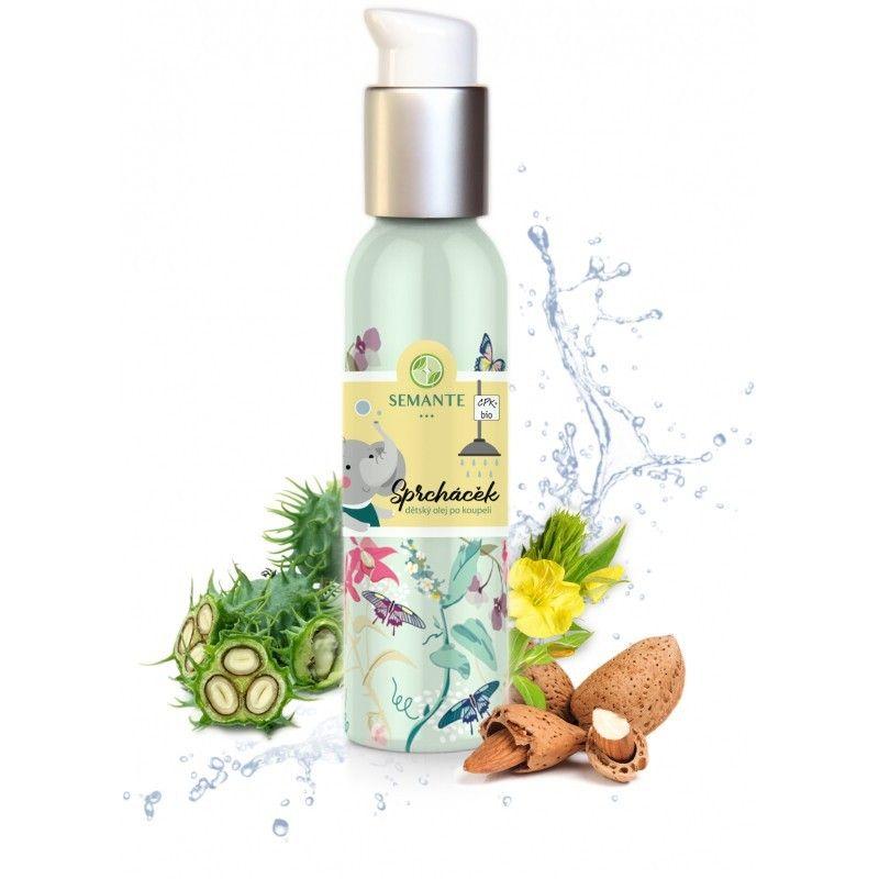 Naturalis - Dětský jemný olej po koupeli Sprcháček BIO, 100 ml