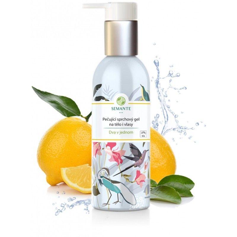 Naturalis - Pečující sprchový gel na tělo i vlasy Dva v jednom BIO, 200 ml