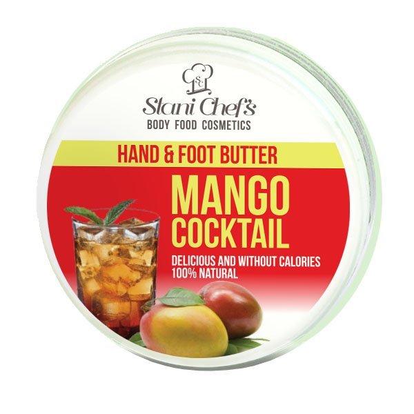 Hristina - Přírodní krém na ruce a chodidla koktejl mango, 100 ml