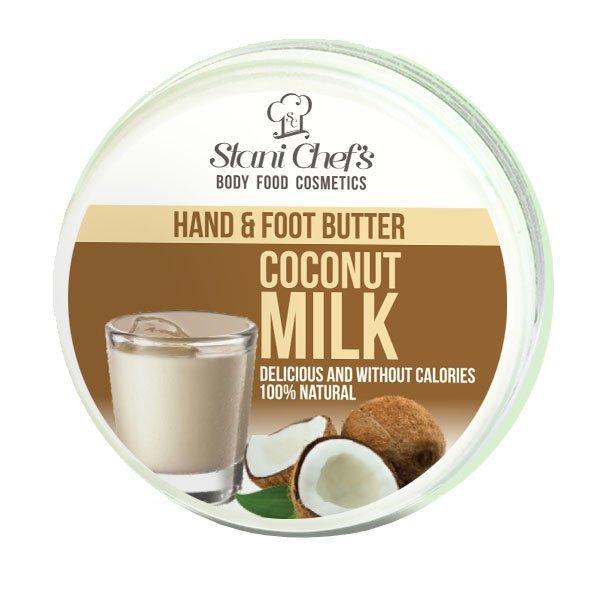 Hristina - Přírodní krém na ruce a chodidla kokosové mléko, 100 ml