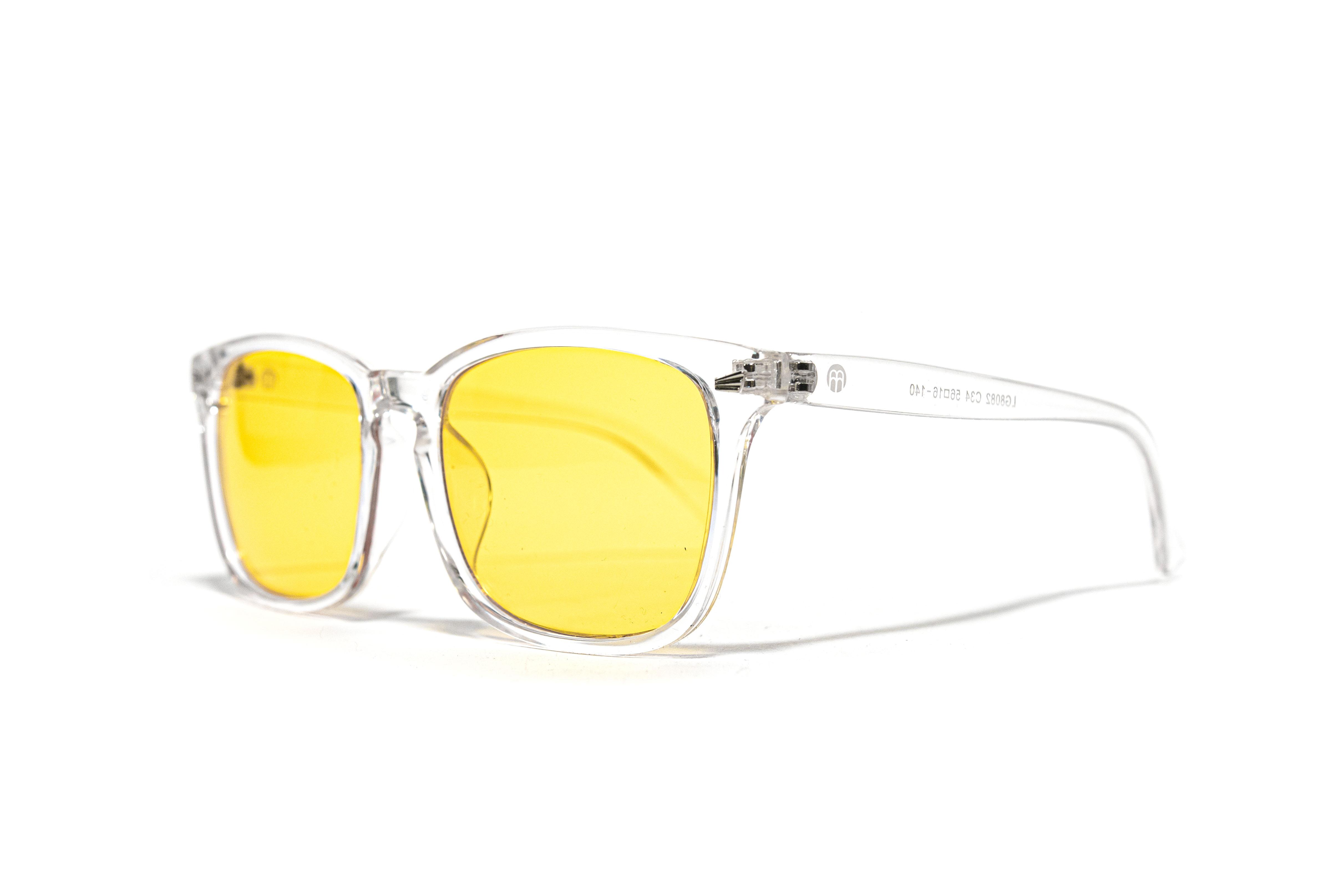 BrainMax BrainMarket brýle blokující 80% modrého světla, Transparent, II. jakost II. jakost