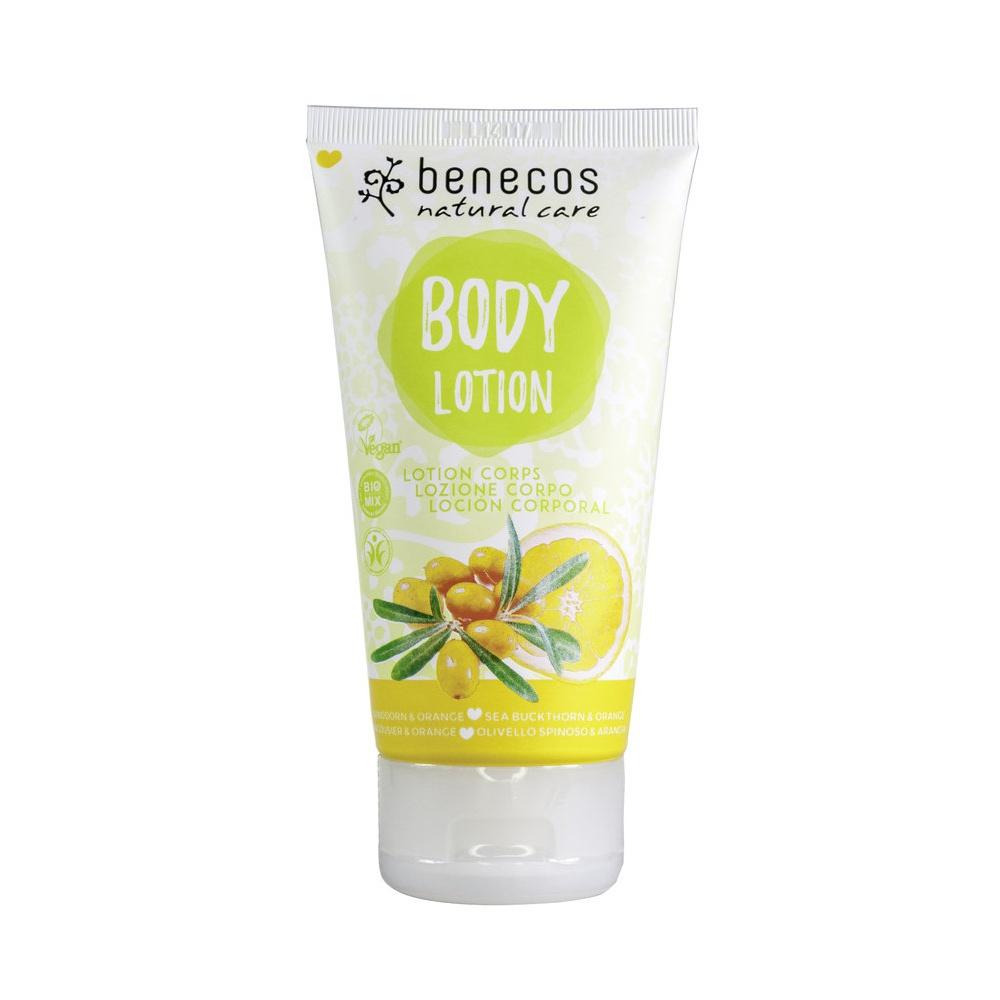 Benecos - Tělové mléko rakytník a pomeranč, 150 ml