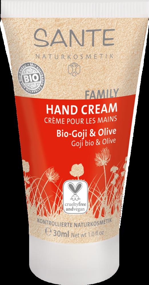 SANTE FAMILY - Krém na ruce Bio-Goji & Oliva, 30 ml