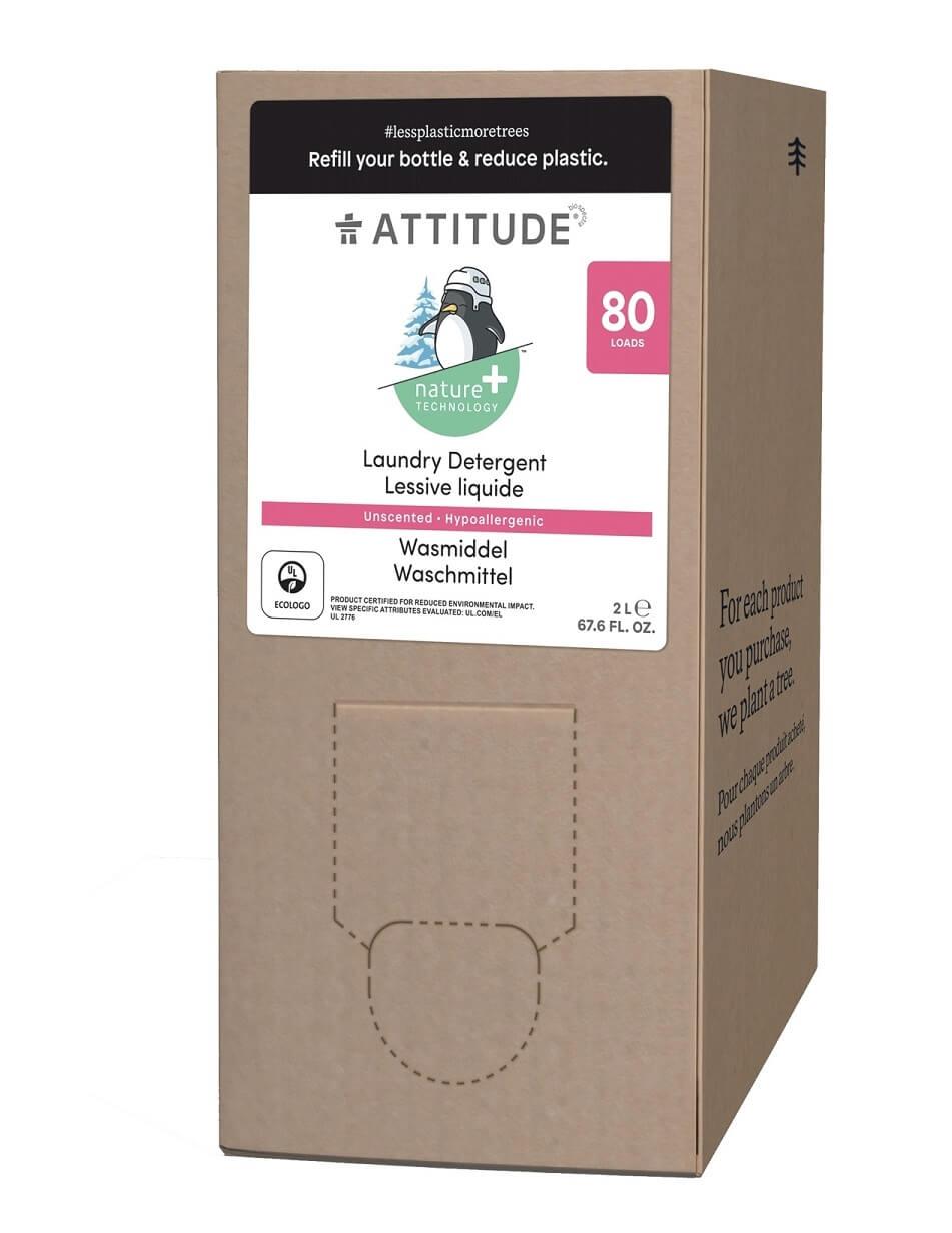 Attitude - Prací gel pro děti bez vůně, náhradní kanystr 2 l