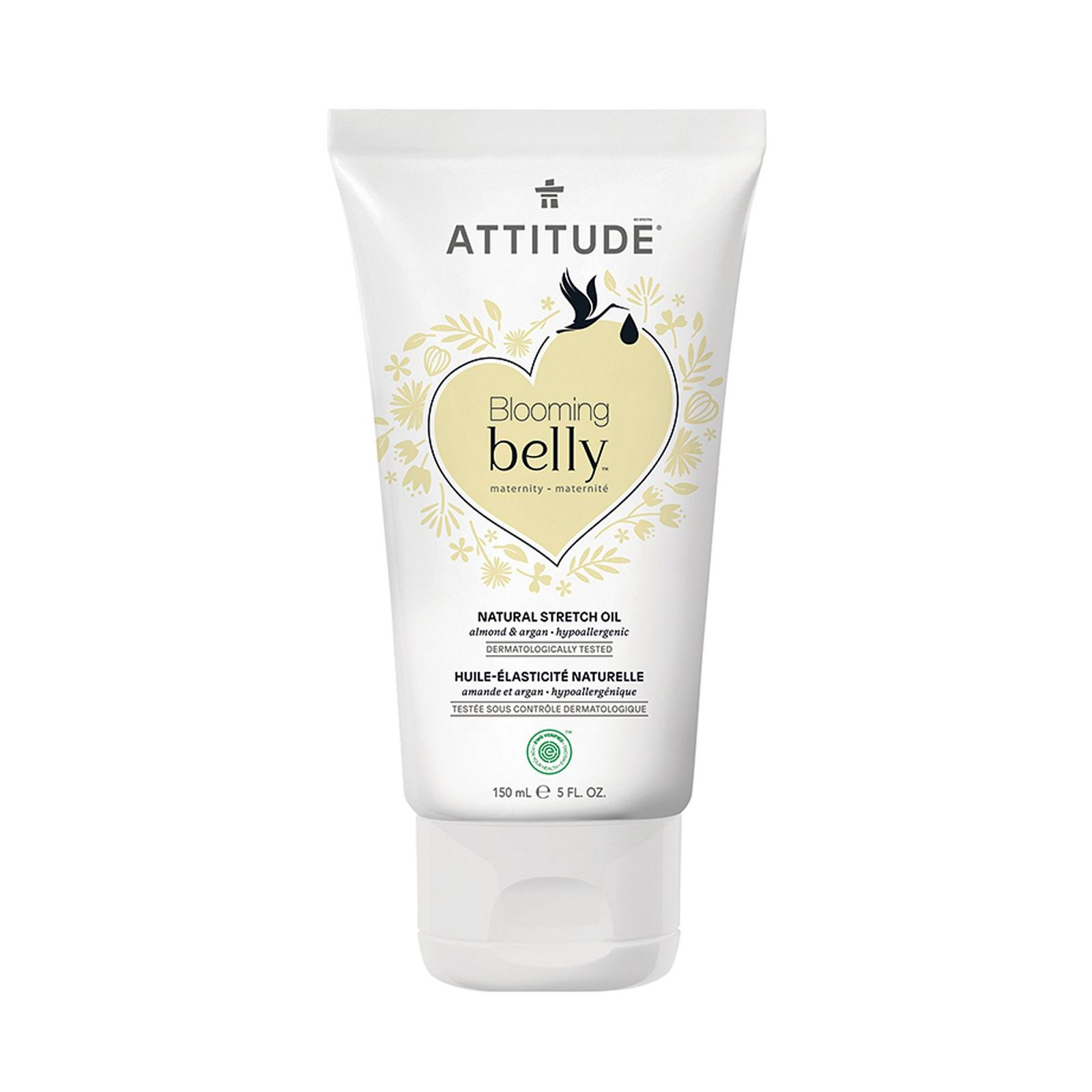 Attitude - Přírodní olej Blooming Belly pro těhotné a po porodu, 150 ml