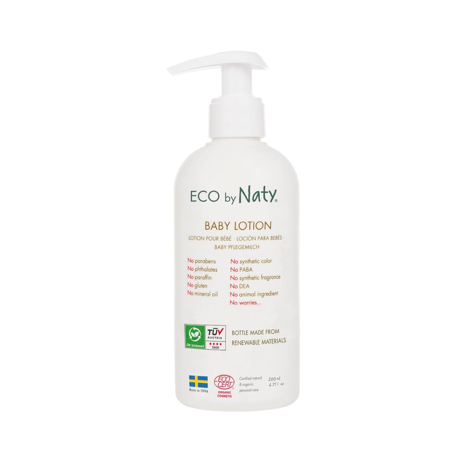 Eco by Naty - Dětské tělové mléko, 200 ml