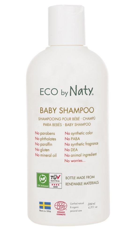 Eco by Naty - Dětský šampon, 200 ml