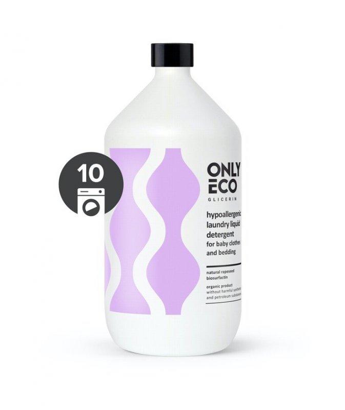 OnlyEco - Hypoalergenní tekutý prací prostředek na dětské prádlo, 1 l