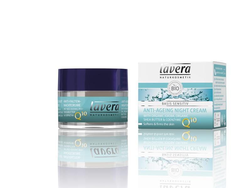 LAVERA - Basis nočný krém Q10, 50 ml