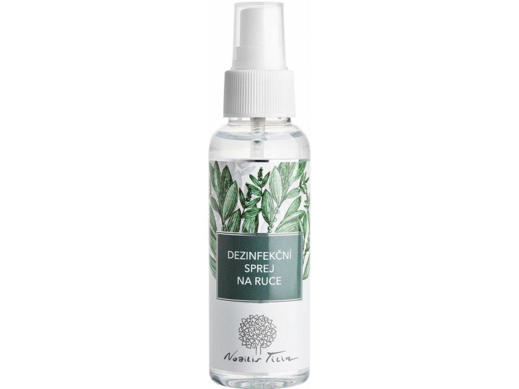 Nobilis Tilia - Dezinfekční sprej na ruce, 100 ml