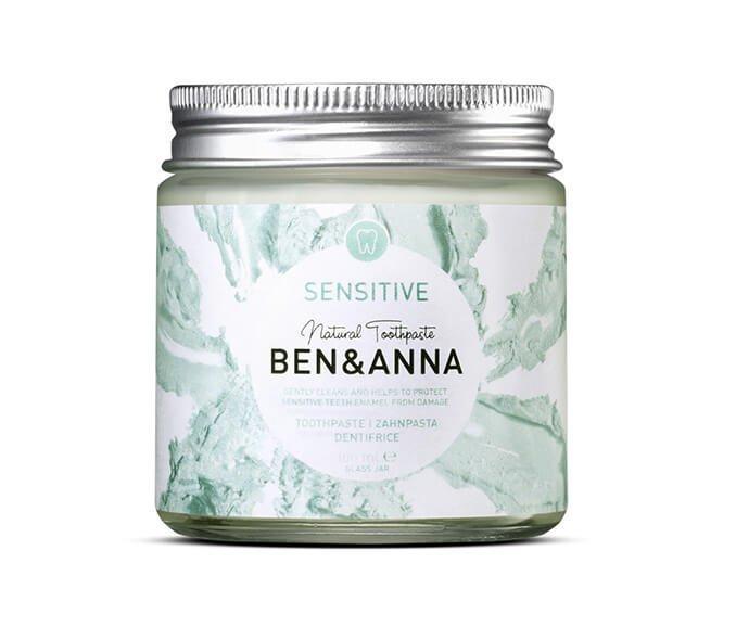 Ben & Anna - Zubní pasta pro citlivé zuby Sensitive, 100 ml
