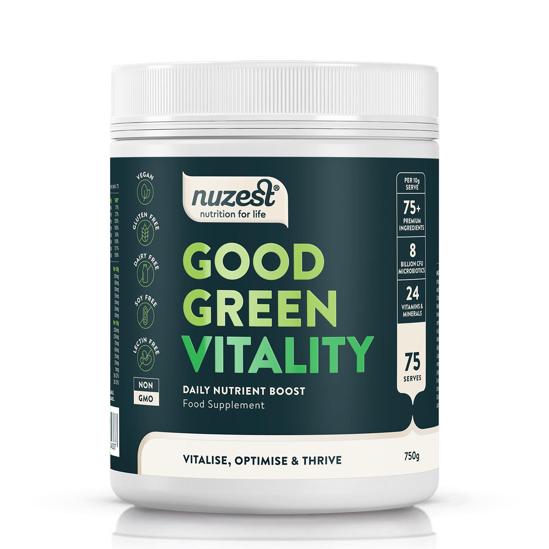 Nuzest - Good Green Vitality, 750g