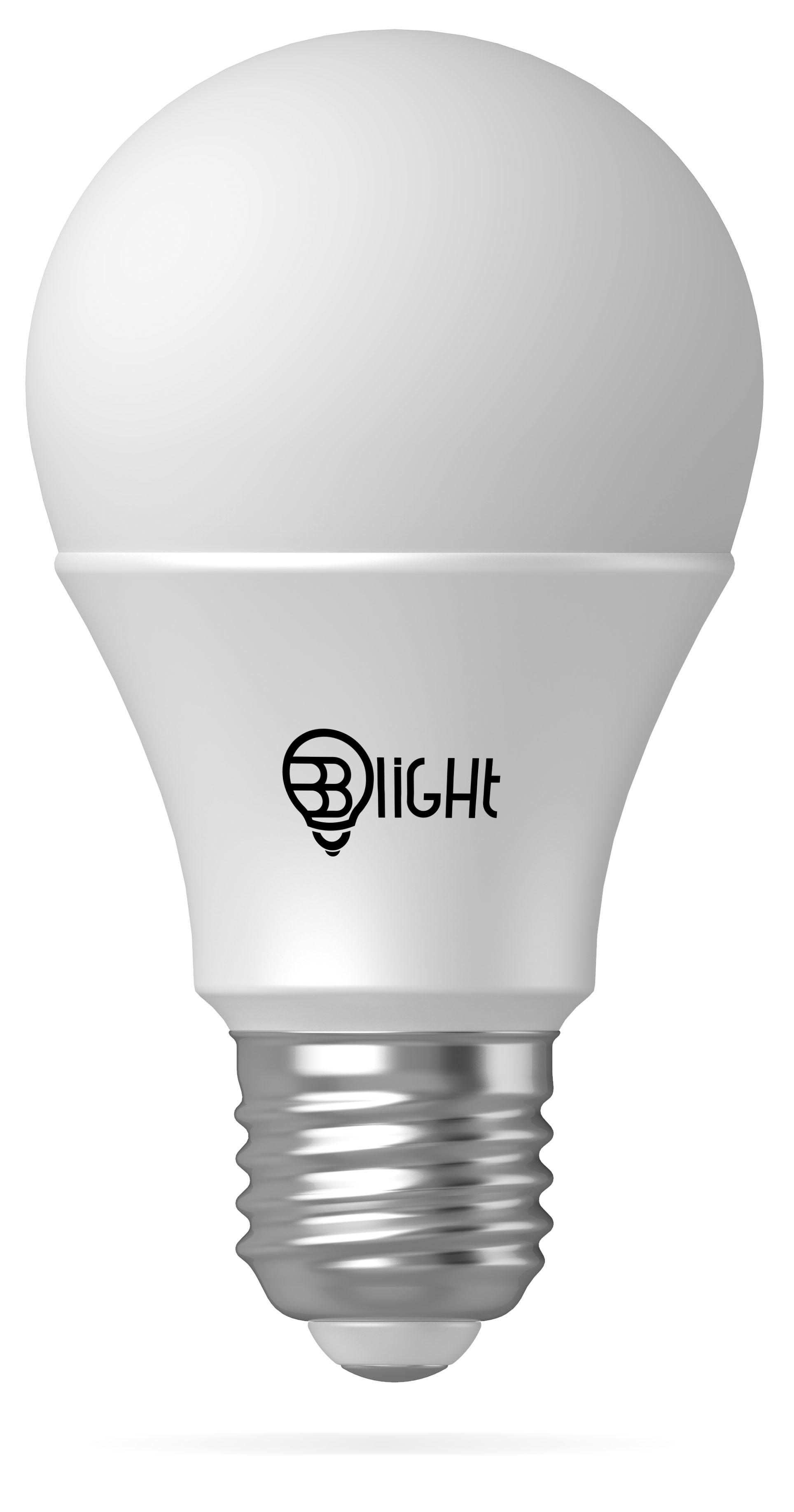 Žiarovka BLight LED, závit E27, 7 W, stmievateľná, farebná (3000 K - teplá biela, RGBW)