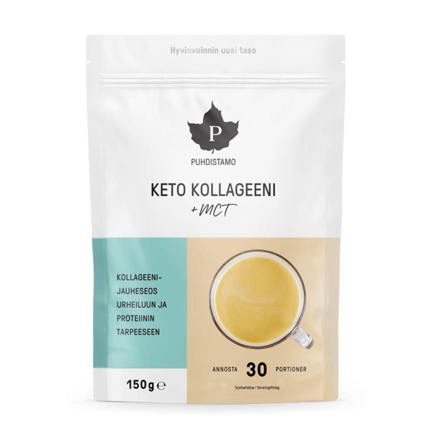 Puhdistamo - Keto Collagen + MCT, 150 g
