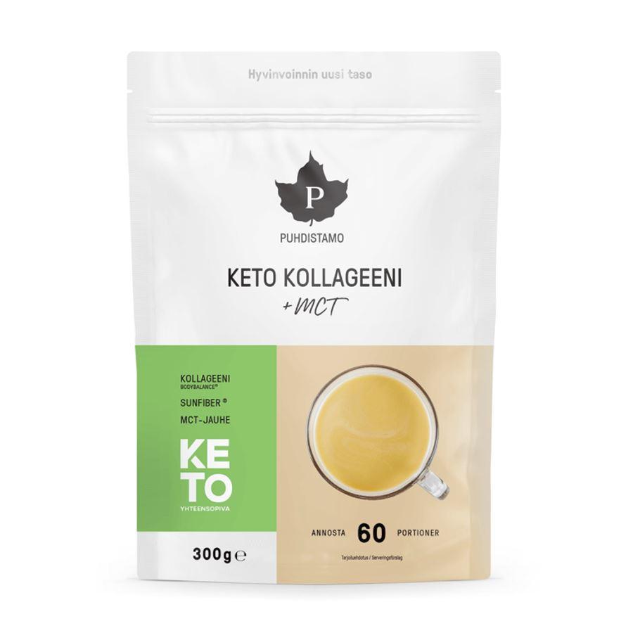 Puhdistamo - Keto Collagen + MCT, 300 g