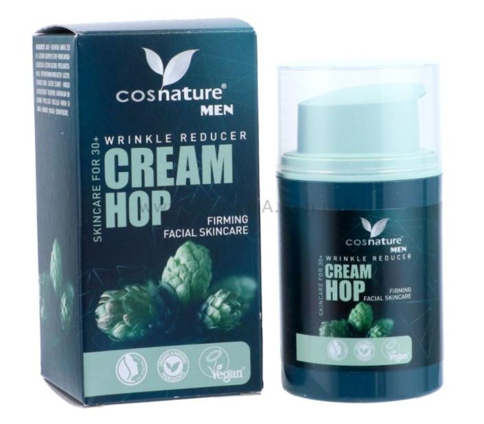 Cosnature - Krém proti vráskám Chmel, 50 ml