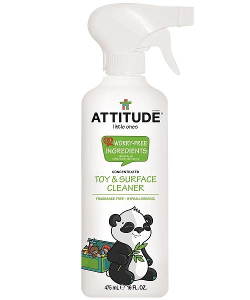 Attitude - Čistiaci prostriedok na detské povrchy / hračky - bez vône s rozprašovačom, 475ml