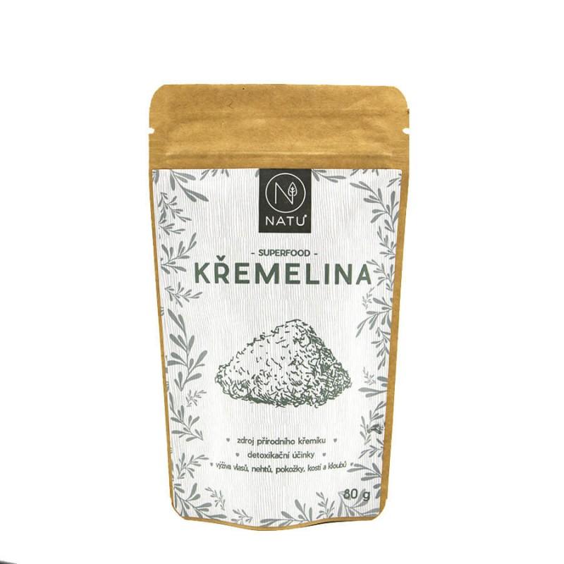 NATU Křemelina prášek 80 g