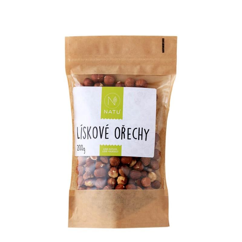 NATU - Lískové ořechy, 200g