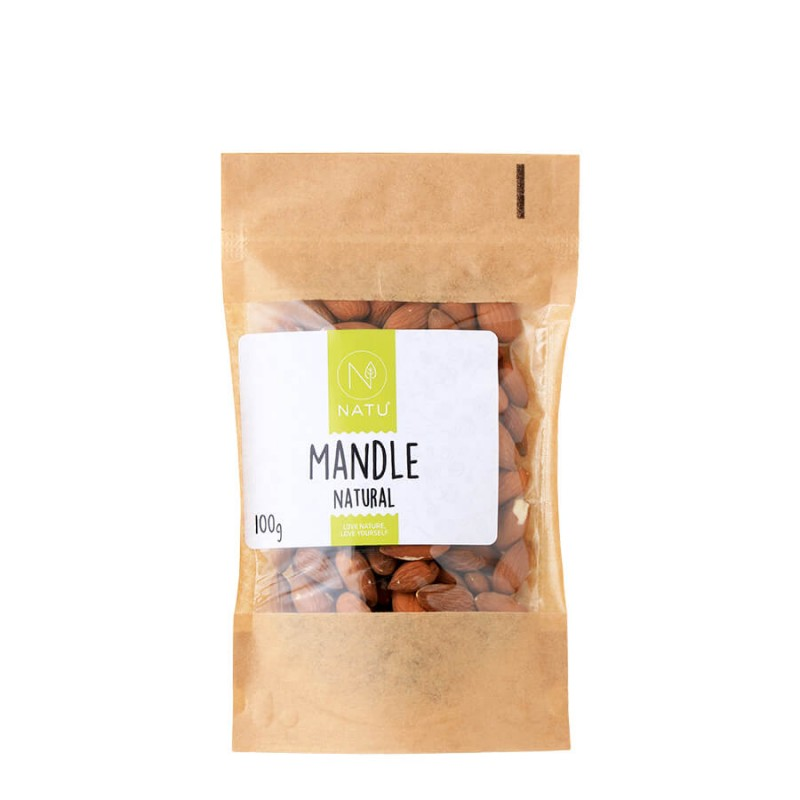 NATU - Mandle natural, 100g