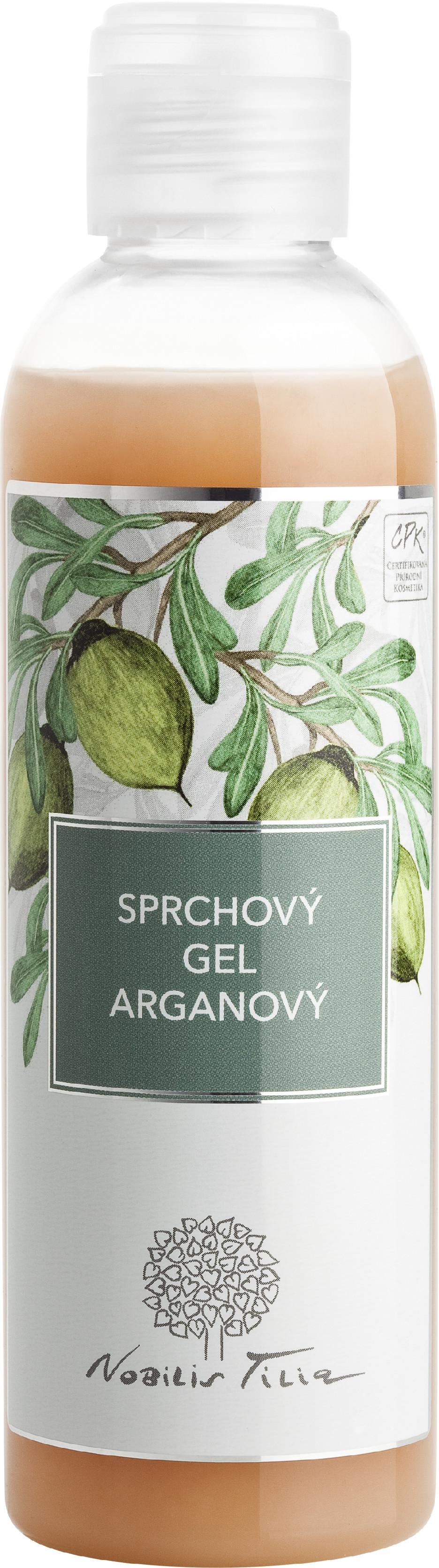 Nobilis Tilia Nobilis, Sprchový gel Arganový 200ml