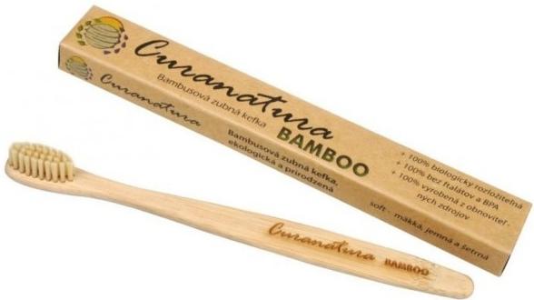 Curanatura Bambusový zubní kartáček Bamboo