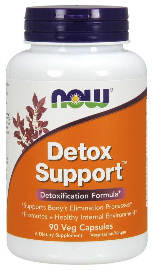 NOW® Foods NOW Detox Support, 90 rastlinných kapsúl