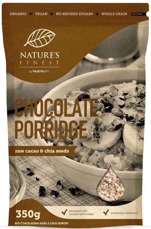 Nutrisslim Natures Finest Chocolate Porridge Bio 350g