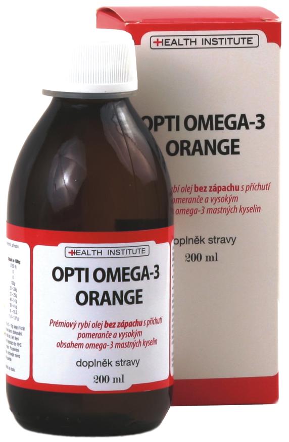 Health Institute OPTI OMEGA-3 ORANGE 200 ml