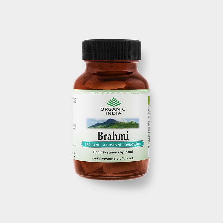 Organic India Brahmi 60 kapslí