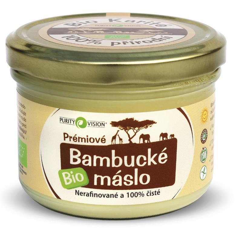 PURITY VISION - Bambucké máslo BIO, 200 ml