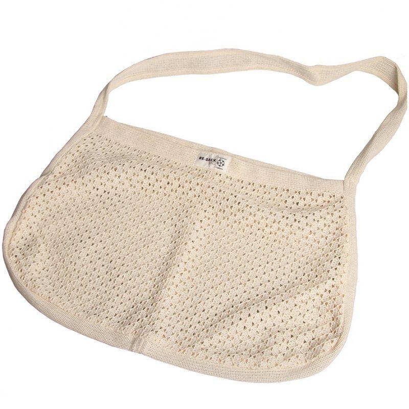 Made Sustained Re-Sack Síťová nákupní taška s dlouhými uchy (Mesh bag)
