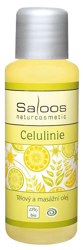 Saloos Bio Masážny A Telový Olej Celulinie, 50ml