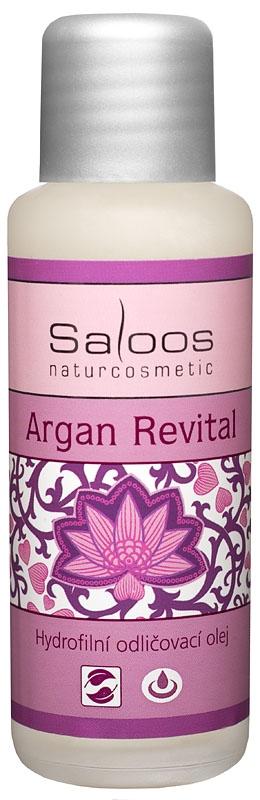Saloos Hydrofilný Odličovací olej Argan Revital, 50ml
