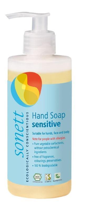 SONETT Tekuté mydlo na ruky - Sensitive 300 ml