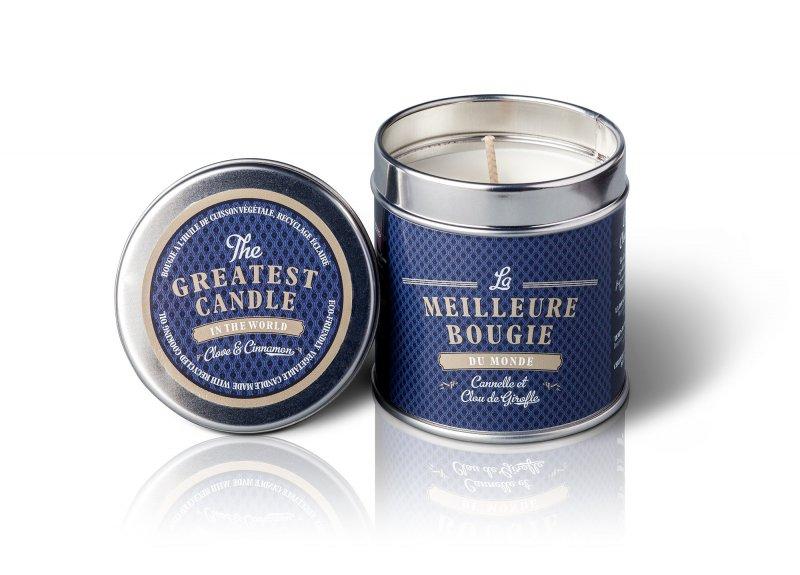 The Greatest Candle Vonná sviečka v plechovke (200 g) - klinček a škorica