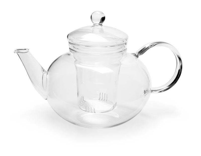 Trendglas Jena - MIKADO sklenená kanvica na čaj so sitkom, 1,2 l