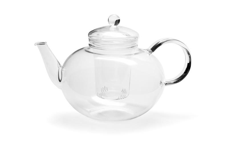 Trendglas Jena - MIKADO sklenená kanvica na čaj so sitkom, 2 l