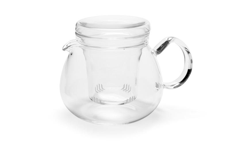 Trendglas Jena - PRETTY TEA sklenená kanvica na čaj so sitkom, 0,5 l