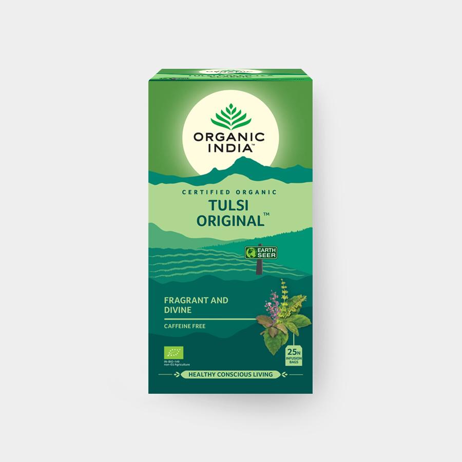 Organic India Tulsi Original-Tea BIO, 25 sáčků