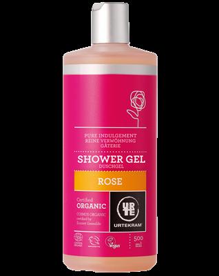 URTEKRAM, Sprchový gel růžový 250ml BIO